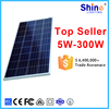 Cheap price poly solar panel 60w solar module in 2017