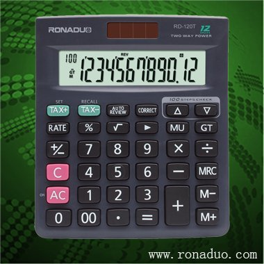 portable calculator 12 digit calculator with solar cell Provides all of the style of the desktop&scientific calculator
