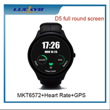"NO.1 D5 1.3"" Android 4.4 Bluetooth 4.0 Smart Watch Phone with IP65 Waterproof, Bluetooth Calling, Remote Camera function"