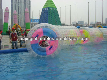 TPU inflatable water rolling ball