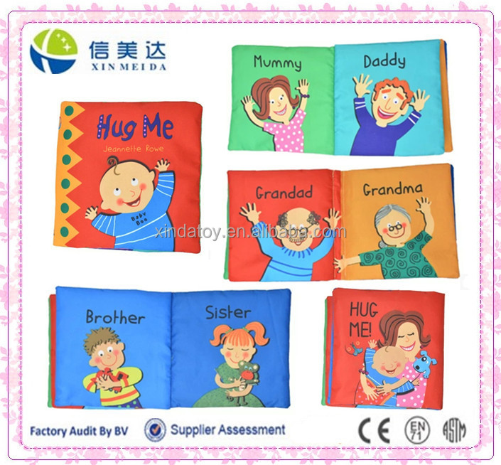 Baby Learning Printing Cloth Book