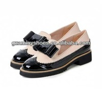 2014 New handmade quilted lady casual shoes