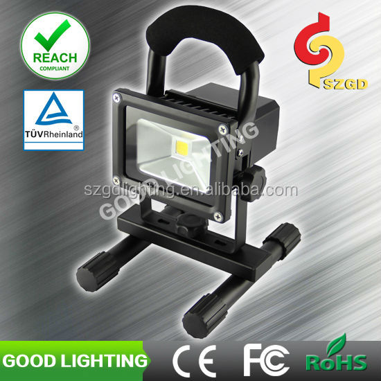 10W led hunting lamp for emergency, camping and car fixing with CE, ROHS, TUV certificate