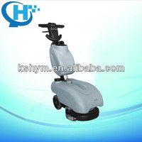 battery type compact floor water scrubber