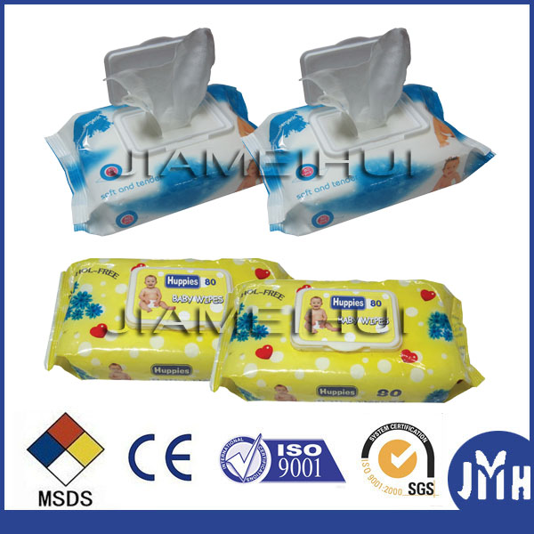 Vitame E free baby wipe samples soft and thick Baby wipe