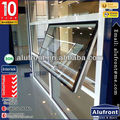 Aluminium Top-hung Window with burglar proof designs