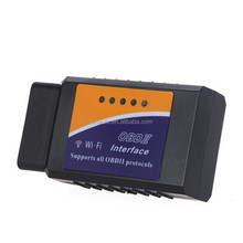 24V WiFi Wireless OBD2 ELM327 OBDII Car WIFI Adapter Scanner Code Reader/Scan Tool Check Engine Light for Japanese Car