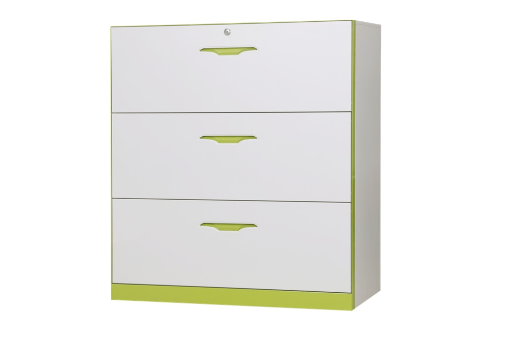 Wholesale price office furniture 3 drawer lateral steel filing cabinet
