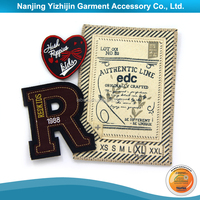 Top quality best price woven iron on label for clothing