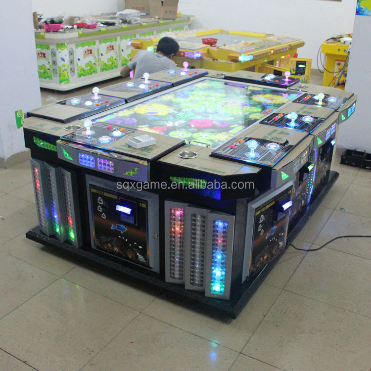 Popular ocean star fishing game machine for touch screen computers