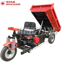 Farm New Electric Mini Cargo Self-Unloading Dumper Dump Truck Tricycle For Sale Price