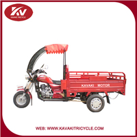 China Cheap Adult Tricycle / Chinese New Top Brand KAVAKI 3 Wheel Tricycle Popular In South Africa Market With Certification