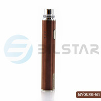 2015 new product Bilstar 5pin usb passthrough LED battery 650mah Myoung ego battery ego e cigarette