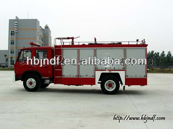 Dongfeng 6000L water-foam fire fighting truck
