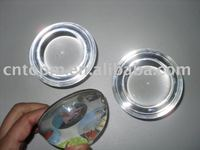 colorful nice cheap custmized fashionable CMYK printing glass round paper weight stationery