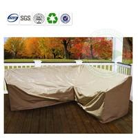 pvc tarpualin canvas outdoor settee cover China factory