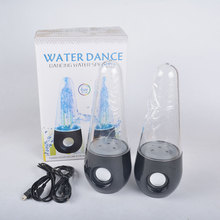LED Light water dance fountain speaker Musical Fountain Speaker Voice Box