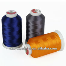 120D/2 27tex 110tickets machine filament embroidery thread polyester