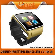 2014 best selling quad band bluetooth dialer GSM watch phone price