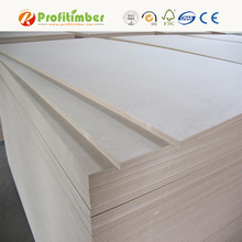 Wholesale Raw MDF / MDF Wood Prices / Plain MDF Board for Furniture