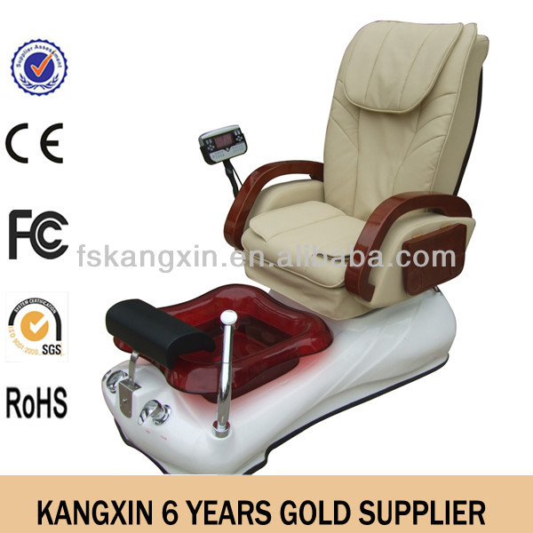 hotsale spa pedicure chair 2013/foot pedicure spa chair/beauty salon furniture reception desk with MP3 (KZM-S139)
