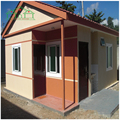 China manufacturer prefab steel hall modular homes with living room furniture sets