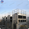 80 Ton Superdyma Closed Circuit Cross Flow GHM-80 Superdyma Water Cooling Tower Manufacturer For Air Compressor