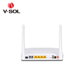 V-Solution ftth gpon ont/onu wifi+fxs onu 4GE+2POTS+WiFi wireless router