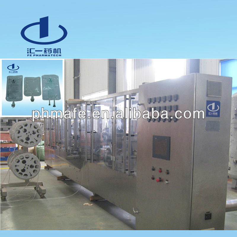 Pharmaceutical Soft Bag IV Solution Making Machine