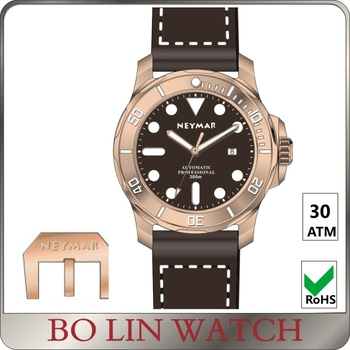 bronze watches automatic, brass watch automatic, 30 atm watch bronze