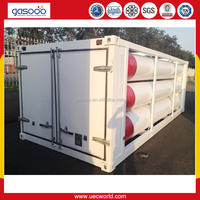 25Mpa Steel Storage and Transportation CNG Tube Trailer