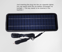 wholesale 1.5w 4.5w 8.5W solar panel car battery charger with USB