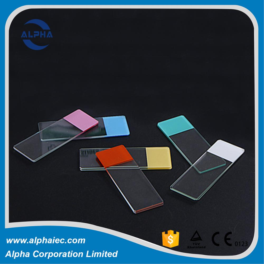 double frosted ends microscope slide for medical supply