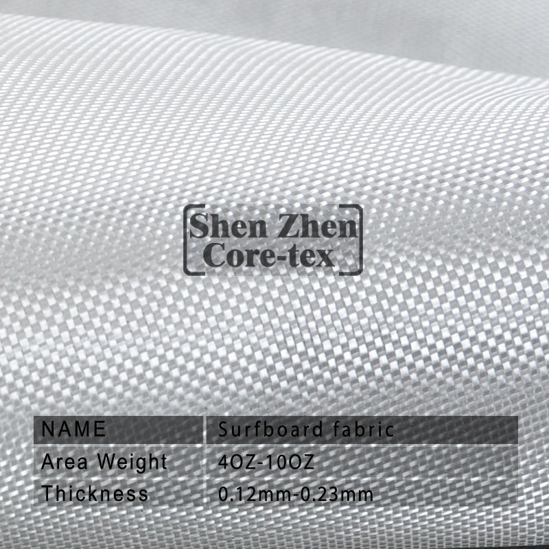 4 oz warp fiber glass fabric for surfboard and boat