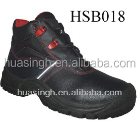 safety type foot protective mining worker shoes CE approved oil resistant