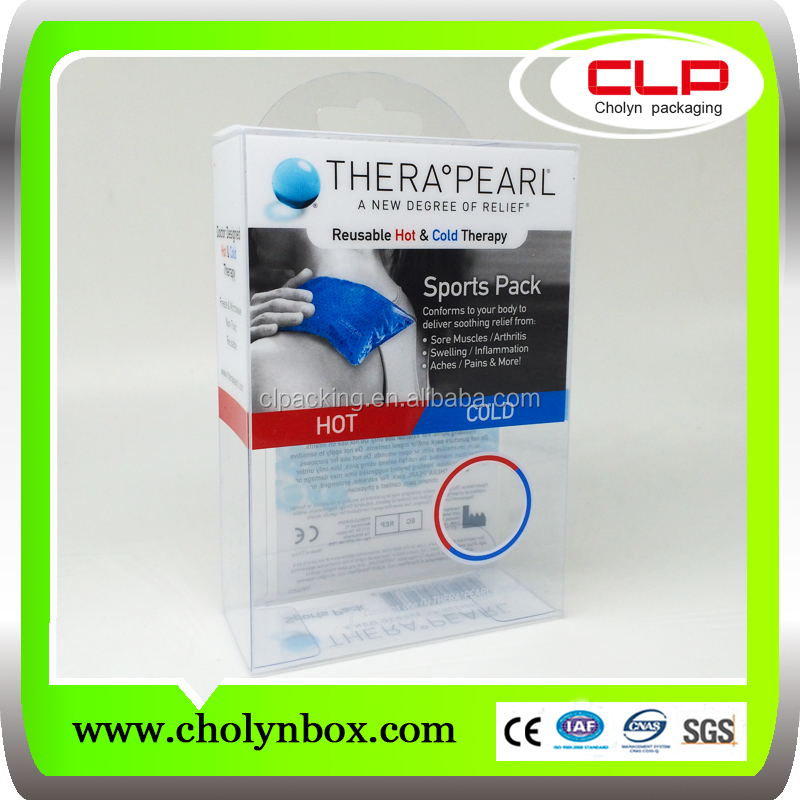 clear plastic watch box folding gift box plastic packaging box
