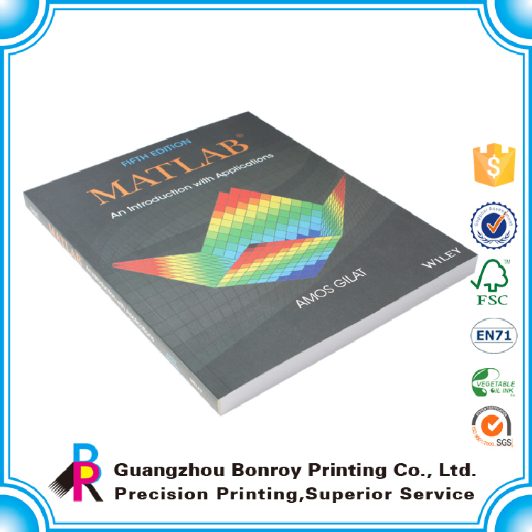 Hot sale Custom Physics Fabric Book Reading Printing