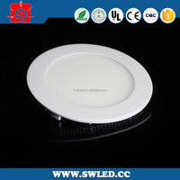 hot sale factory 7w to 14w small ultrathin round led panel light with matt color