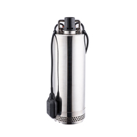 Portable 2 hp stainless steel electric water pumps 3 phase submersible pump