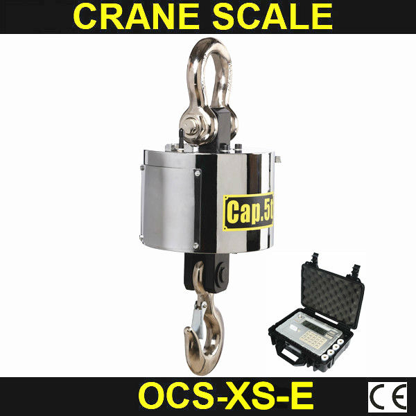 RS232 RS485 output 5T wireless crane scale with handhold indicator