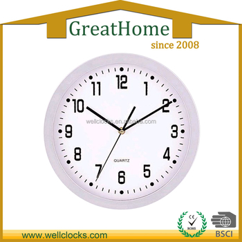 Plastic 12 Wall Clock Different Shape Buy Wall Clock