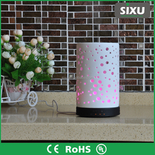 New!! Large Ceramic Aroma Diffuser, Aromatherapy Humidifier, Rotating LED Deco Light CERAMIC AROMISTER