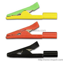 PTL909-1 - crocodile clip 2mm / alligator clips/mini clip