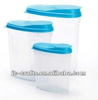 3pcs plastic Cereal container,Food container,cereal dispenser