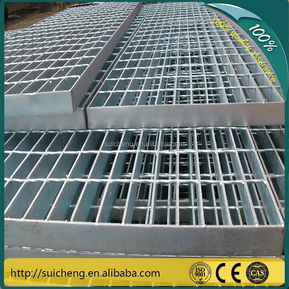 Guangzhou Factory hot dip galvanized grates steel welded steel driveway grating