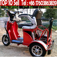 stable handicapped electric scooter, handicapped motorcycle, electric tricycle for handicapped