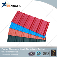 Building Materials Prices Excellent Fire Resistance Performance PVC Roof Tile