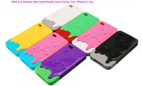 Melt Ice Cream Skin Hard Back Case Cover for iPhone 4 4G