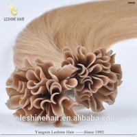 high quality Italy glue U tip prebonded european hair extension