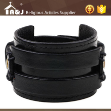 A&J Excellent after-sales service Wholesale leather bracelet wholesale